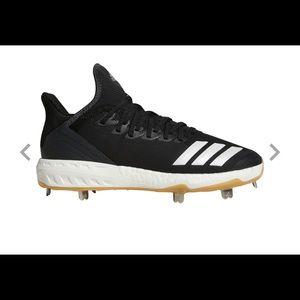 🆕adidas Men's Icon 4 Gum Metal Baseball Shoes